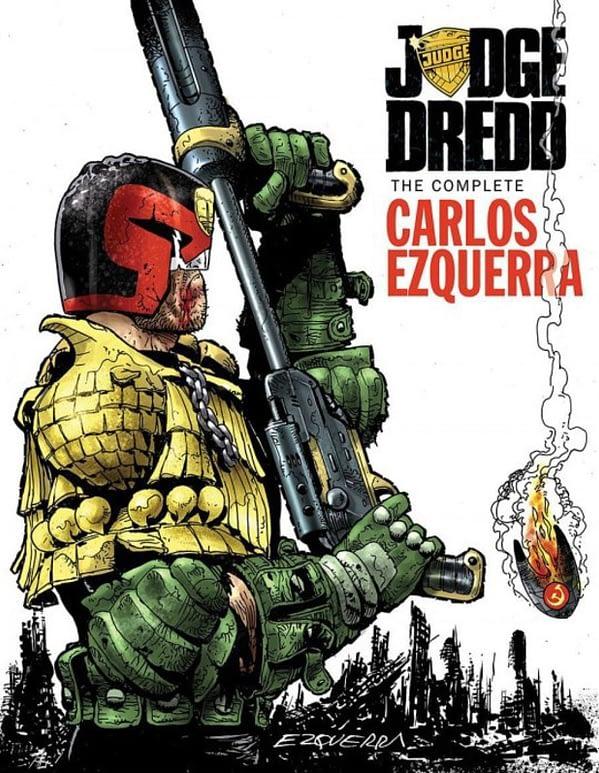 Carlos Ezquerra Judge Dredd Cover