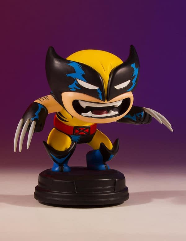 Wolverine Marvel Animated Statue Gentle Giant 2