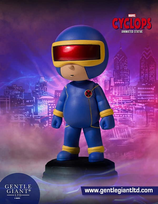 Cyclops Marvel Animated Statue 1