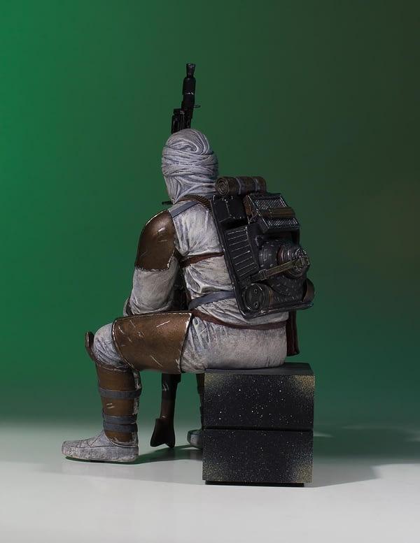 Star Wars Gentle Giant Dengar Statue 3