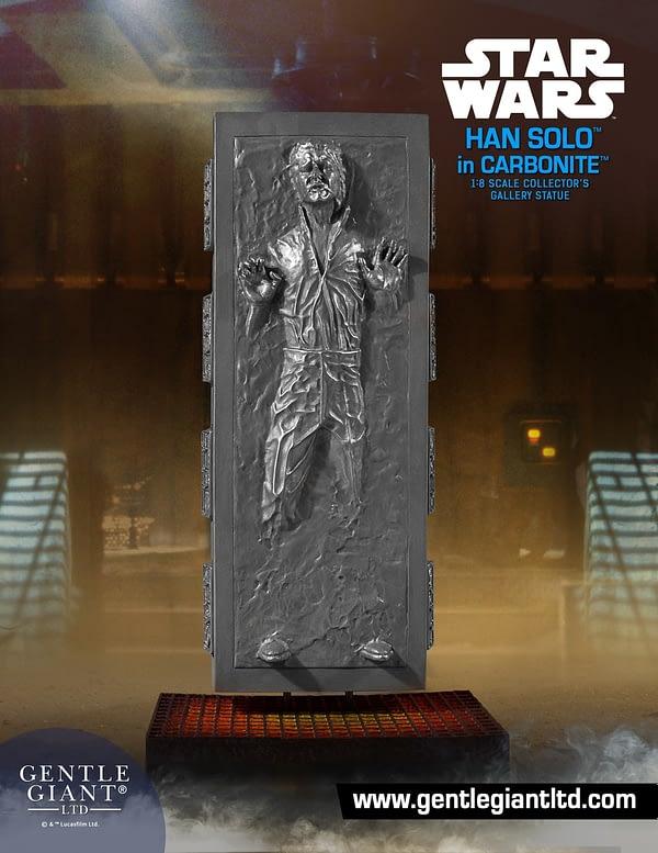 Star Wars Gentle Giant Han Solo in Carbonite 1