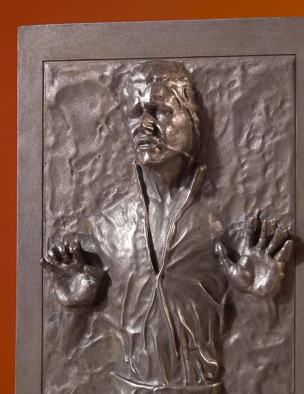 Star Wars Gentle Giant Han Solo in Carbonite 5