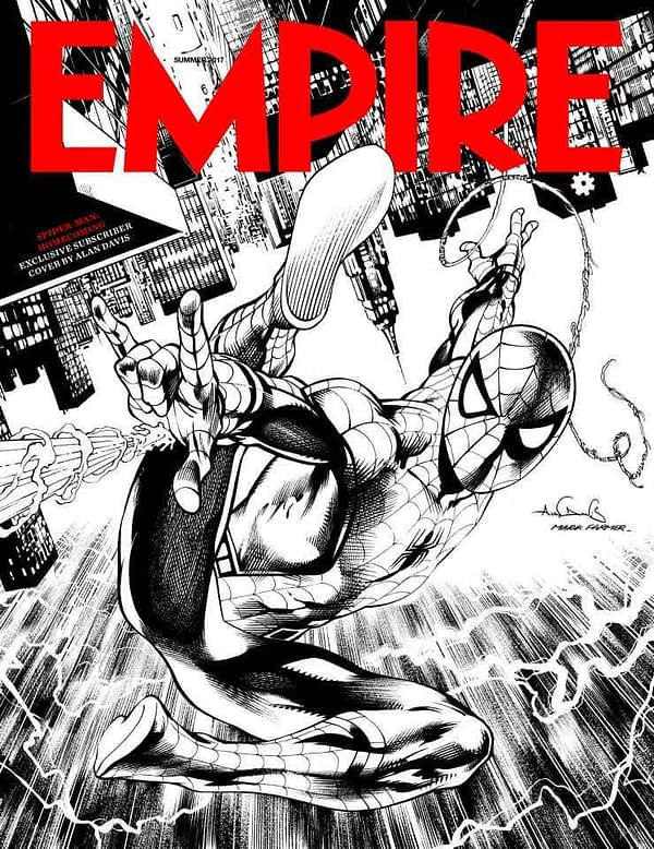 Empire Subscribers cover by Alan Davis and Mark Farmer