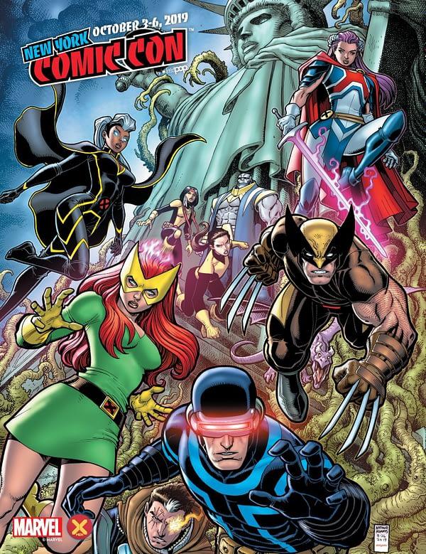 X-Men of Dawn of X Adorn New York Comic Con's 2019 Program Guide