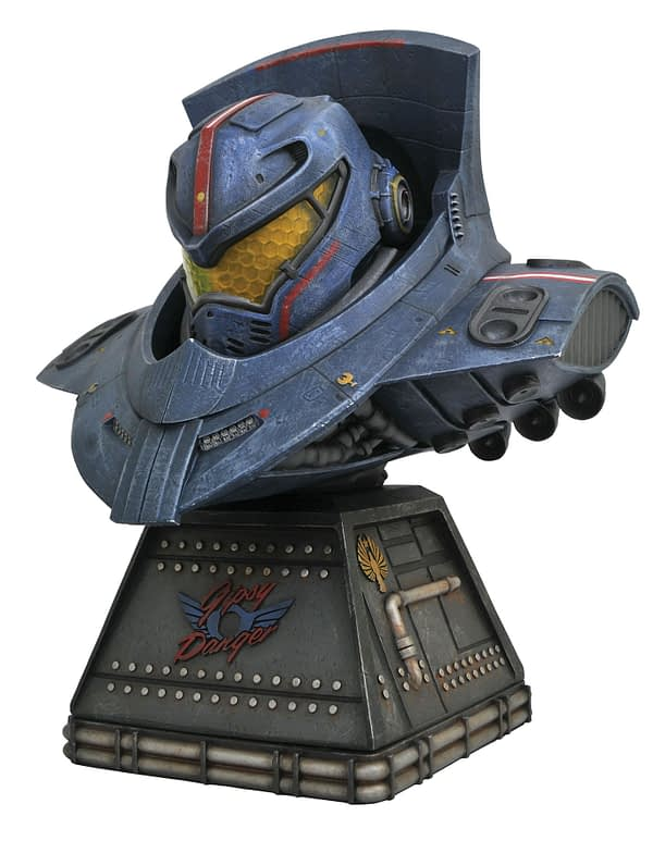 Pacific Rim Gypsy Danger Bust 2