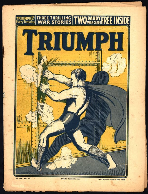 Triumph Superman cover