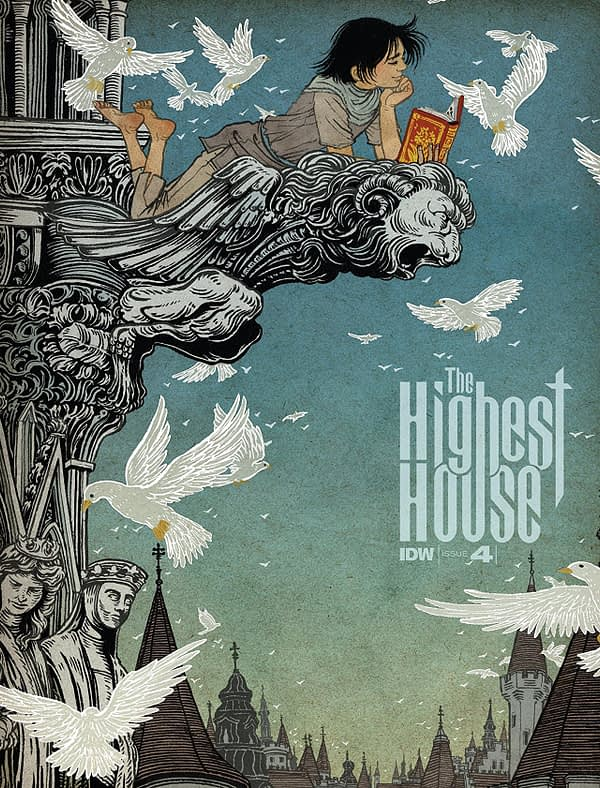 Highest House #4 cover by Yuko Shimizu