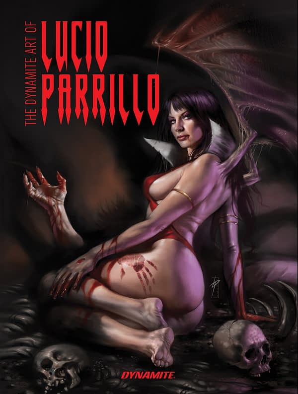 Dynamite to Publish Hardcover Collection of Lucio Parrillo's Covers