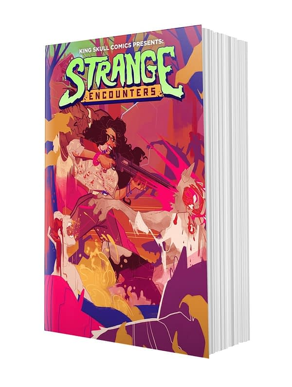 Strange Encounters, a New Anthology from Team Behind Puerto Rico Strong, Now on Kickstarter
