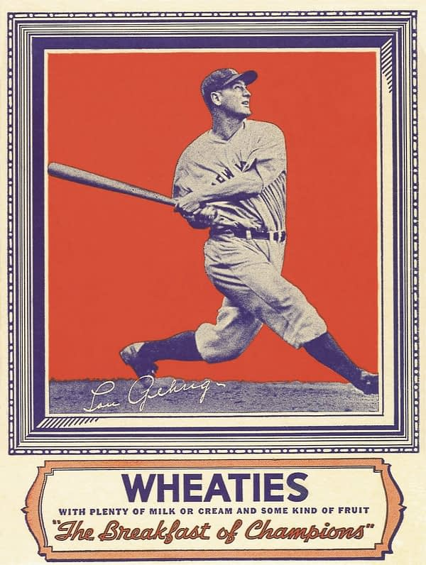 Wheaties Gehrig box