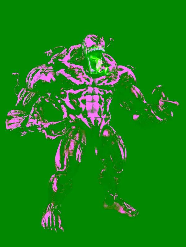 Marvel Legends Venom Wave BAF Super Venom