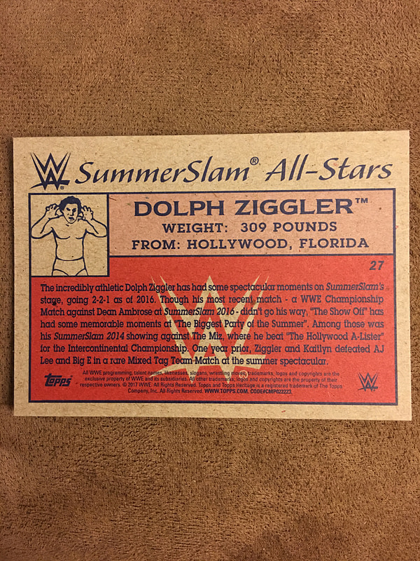 Topps 2017 WWE Heritage Cards 11