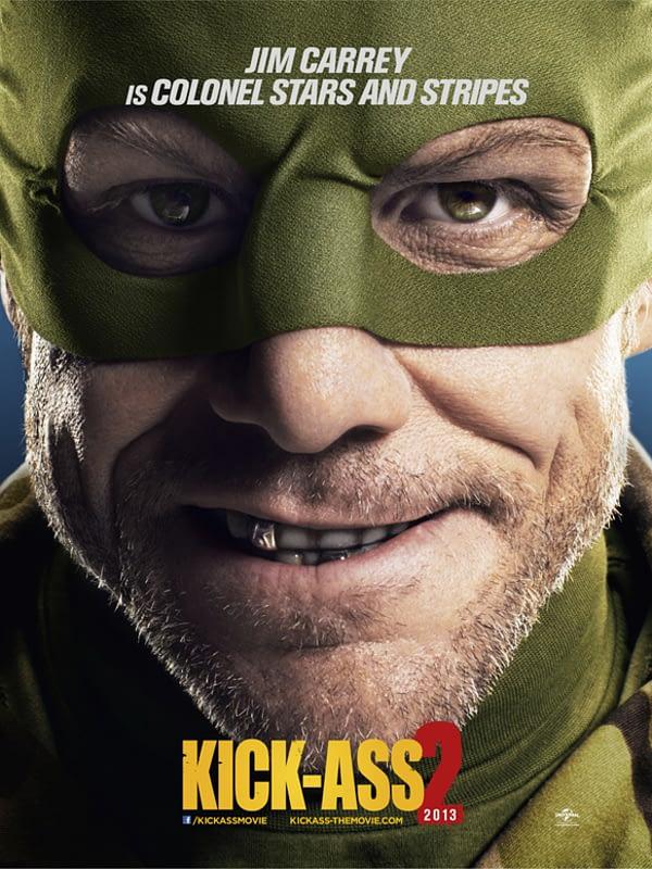 jim carrey kick ass 2 poster