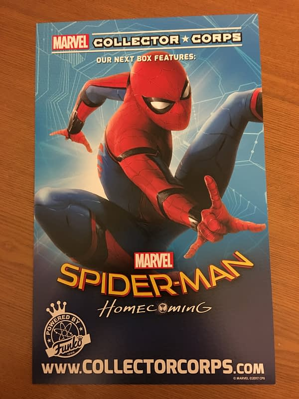 Collector's Corps Spider-Man: Homecoming Teaser