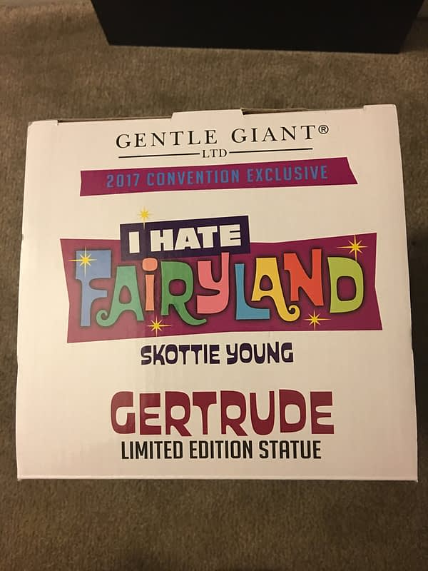SDCC Exclusive Skottie Young I Hate Fairyland Gertrude Statue 10