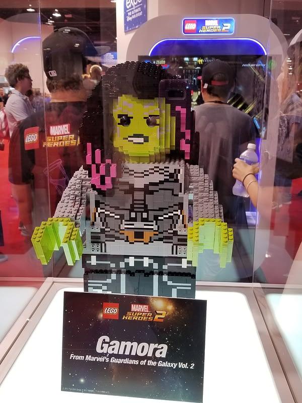 LEGO Marvel Super Heroes 2 Gamora Statue D23