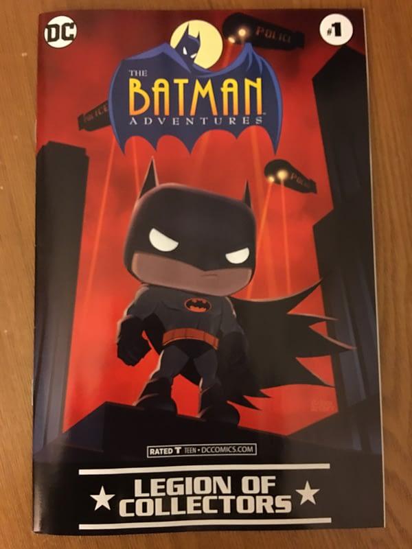 Batman The Animated Series Funko Legion of Collectors Box Comic
