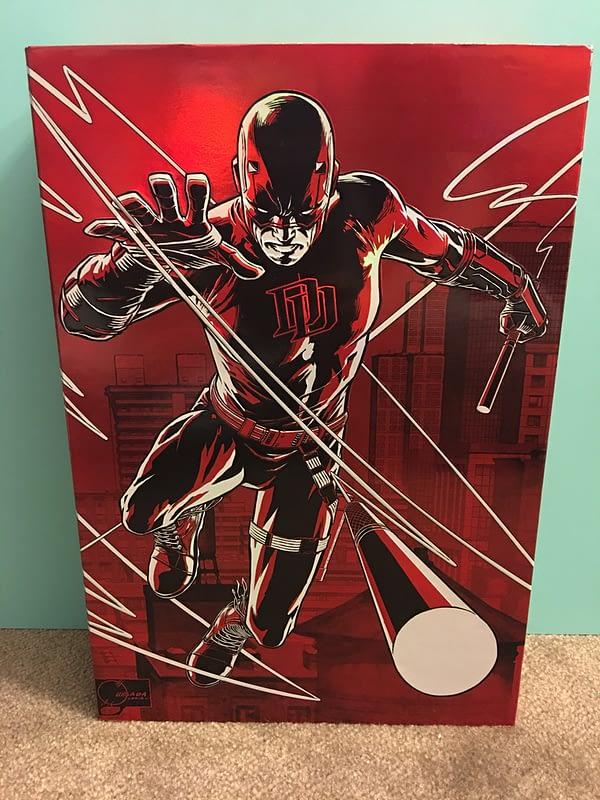 SDCC Exclusive Daredevil 12 inch Figure 3