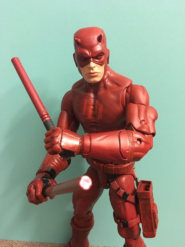 SDCC Exclusive Daredevil 12 inch Figure 9