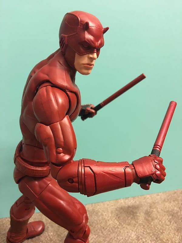 SDCC Exclusive Daredevil 12 inch Figure 10