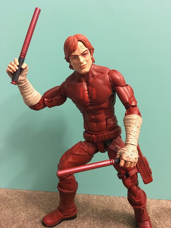 SDCC Exclusive Daredevil 12 inch Figure 16