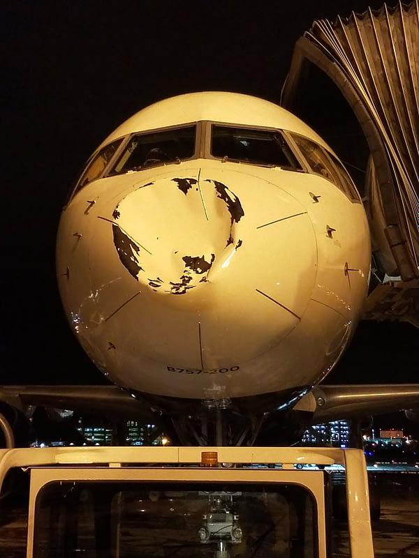 Oklahoma City Thunder Plane