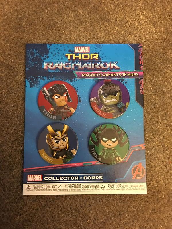Thor Ragnarok Collectors Corps Box 14