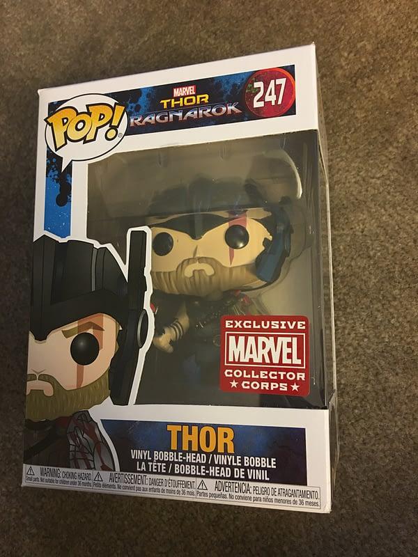 Thor Ragnarok Collectors Corps Box 4