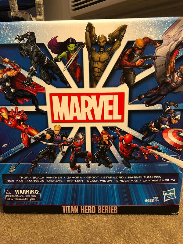 Hasbro Marvel Titan Series Box Set 1