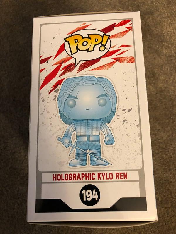Holographic Kylo Ren Pop Exclusive Target