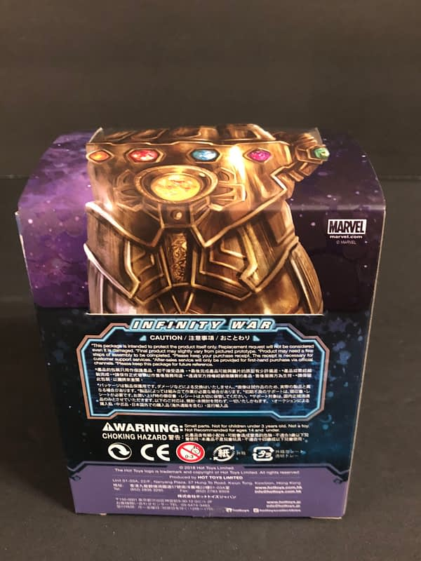 Hot Toys Cosbaby Thanos 2
