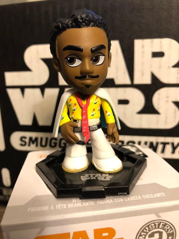 Funko Smugglers Bounty Star Wars Solo box Lando Mystery Mini