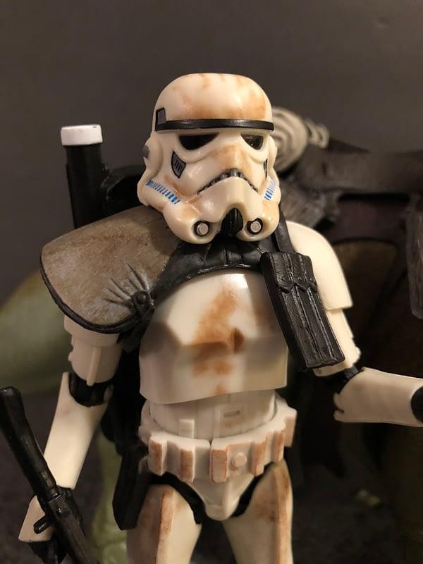 Star Wars Black Series Dewback and Sandtrooper 5