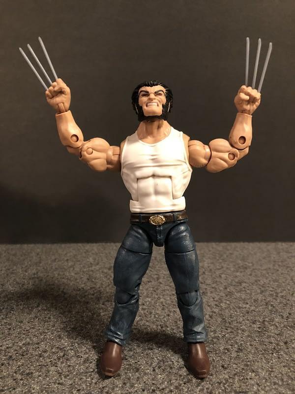 Marvel Legends Wolverine and Bike 7