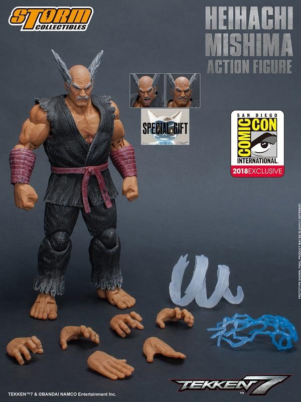 Storm Collectibles tekken Heihachi