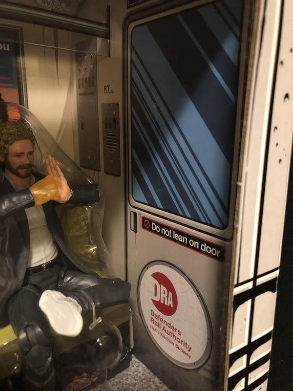 Marvel Legends SDCC Exclusive Defenders Rail Authority Set 19