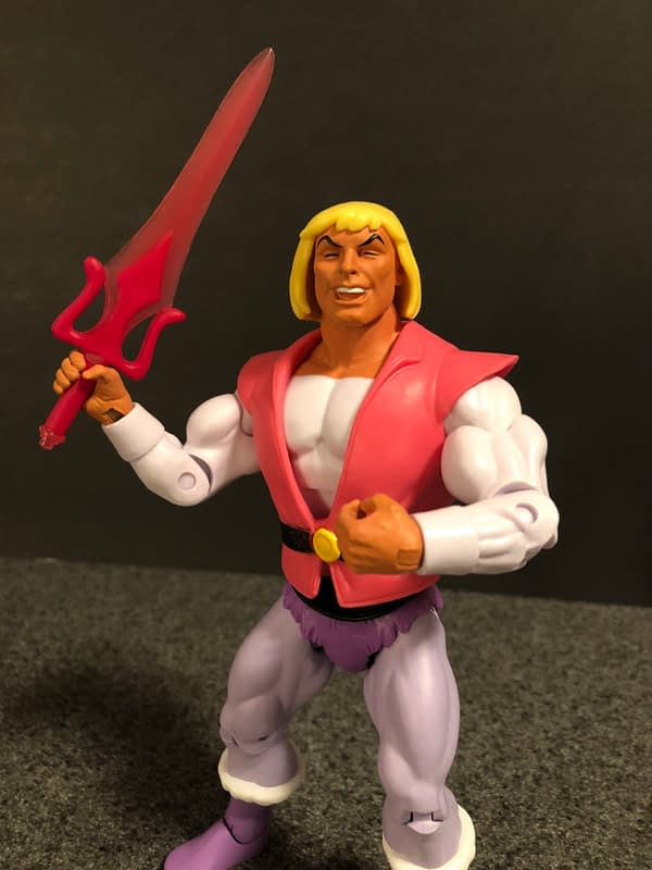 Super7 Masters of the Universe Laughing Prince Adam 7