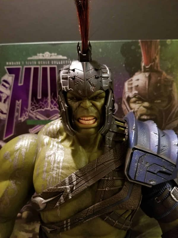 Hot Toys Thor Ragnarok Gladiator Hulk 5