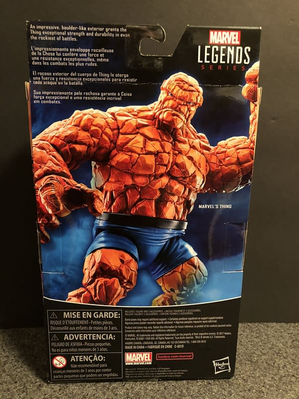 Marvel Legends The Thing Figure 2