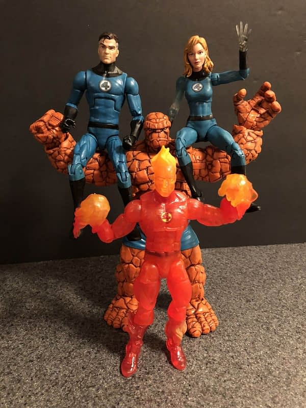 Marvel Legends The Thing Figure 5