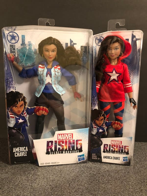 Hasbro Marvel Rising Line 7