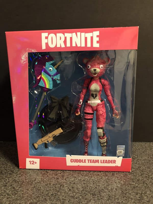 McFarlane Toys Fortnite Cuddle Team Leader Figure 1