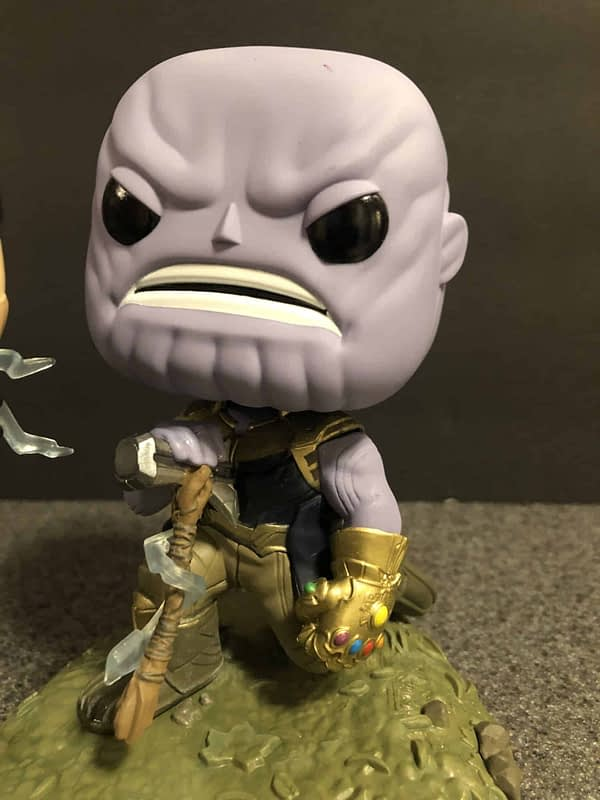 Funko Marvel Infinity War Thor Thanos Movie Moment 3