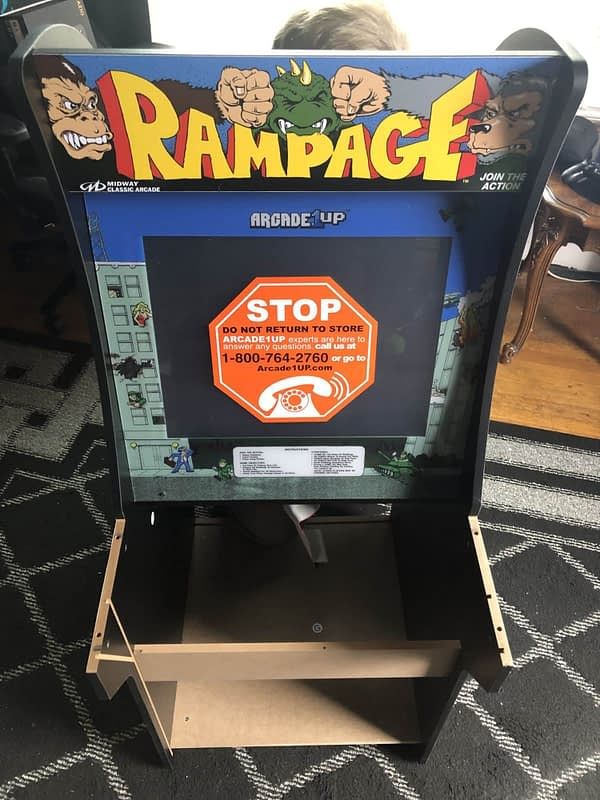 Review: Arcade1Up Rampage Arcade Cabinet