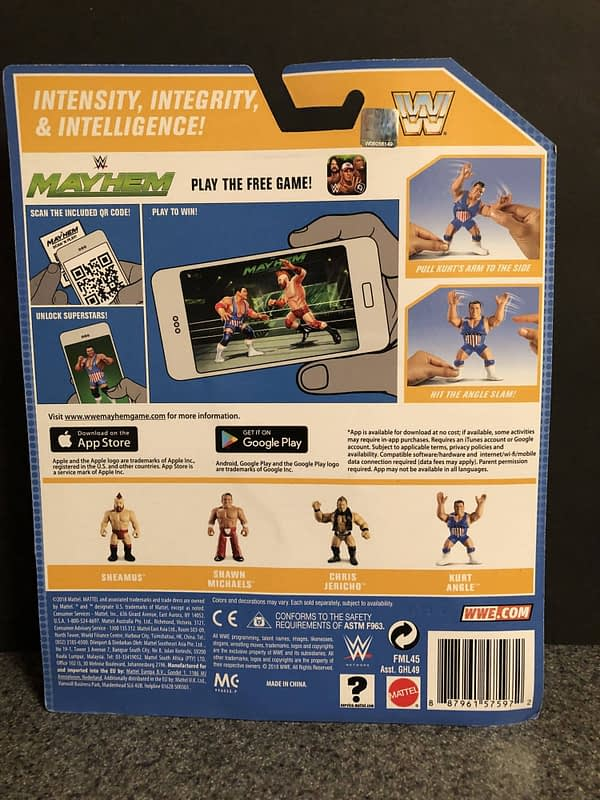 Mattel WWE Retro Figures 3