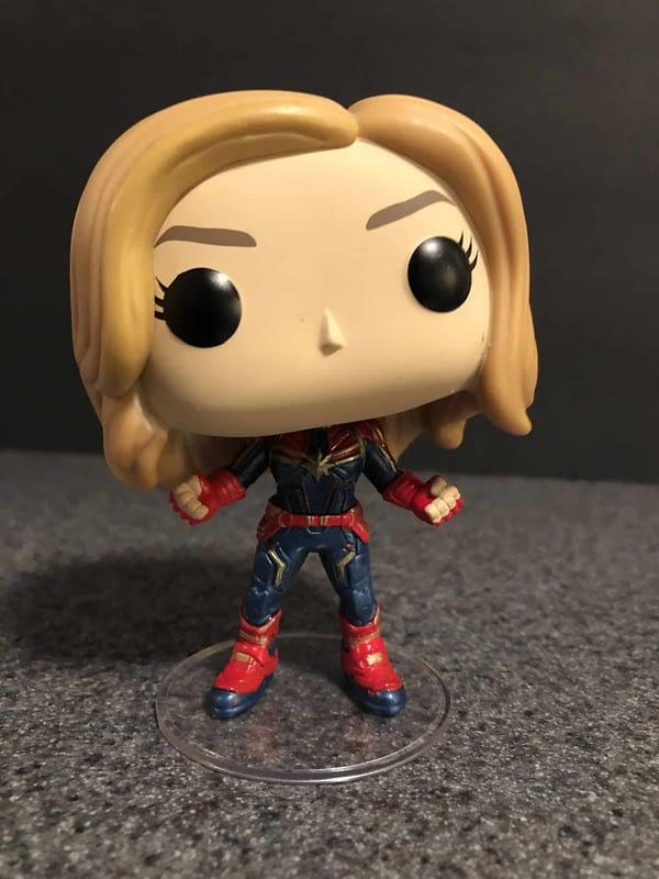 Captain Marvel Funko Pop 3