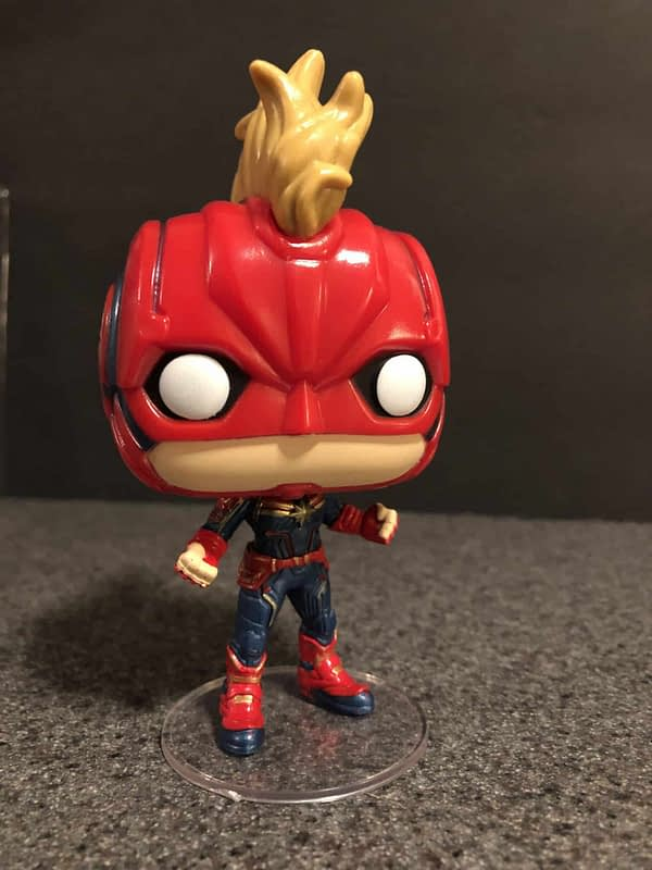 Captain Marvel Funko Pop 5
