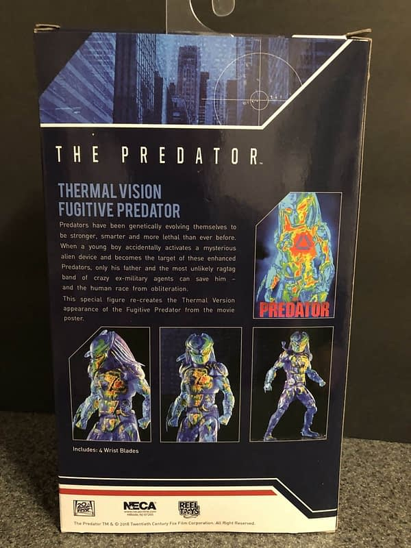 NECA Thermal Predator Target 2