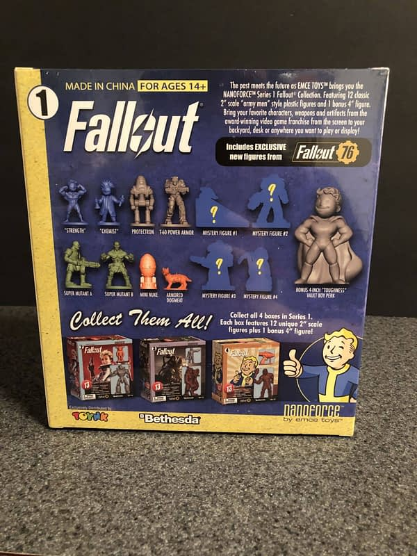 Toynk Fallout Nanoforce Sets 2