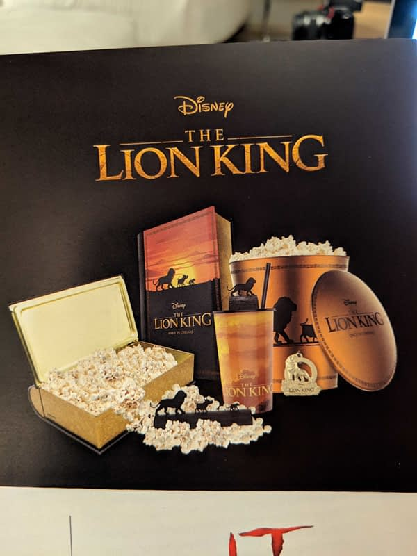 CinemaCon: New Looks at Merchandise for Aladdin, Lion King, IT: Chapter 2, and More